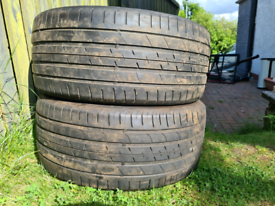 """Part worn tyres 275/40 20"""" suv"""