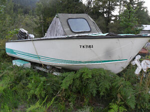 cheap 16ft aluminum boat project with trailer