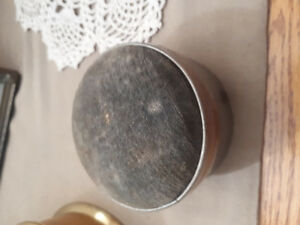 Vintage Silver Collectable soft cushion top sewing kit