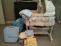 Multi-items - Bassinet,Travel Bed, Baby Bouncer Vibe Chair