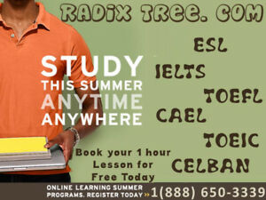 Online Exam Preparation for CELBAN,CELPIP,IELTS,TOEFL at home