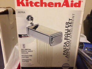 Kitchen aid pasta cutter and roller in box used twice
