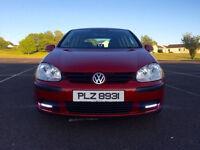 "SWAP OR PX !!! VW GOLF 2005 2.0 SDI RED / 18"" GTI ALOYS !!! LED"