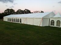 Marquee Hire for corporate events, Weddings and home events