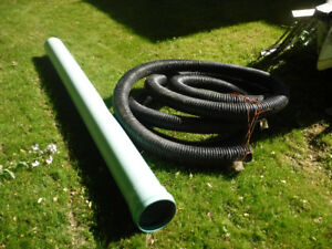 """Drainage Pipes - Big """"O"""" and solid green sewer"""