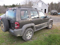 """Jeep Liberty trade for 35"""" boggers"""