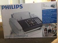 Philips Fax Machine Professional InkJet - BNIB Copier Phone Answering Machine Office Clearance