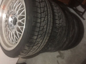 5x120/5x112 staggered BBS RS reps 18x9.5 18x8 Windsor Region Ontario image 2
