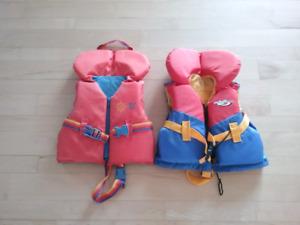 Veste de flottaison pour jeune enfant