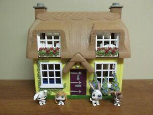 Jolie maison sonore Step2...4 Lapins Petshop y habitent !!!