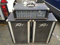 Peavey 112 PT speakers and XR-400 mixer amp