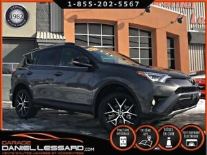 Toyota RAV4 *00200 KM* AWD SE, GPS, CUIR, TOIT ET +++ 2018