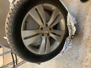"""19"""" Wheels with Nokian Tires"""