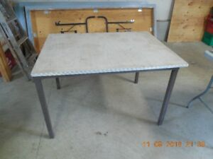 Arborite Covered Table