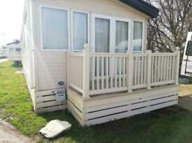 Used Static Caravan Decking | 2 Sections | Front & Side Verandas + Skirting Kit