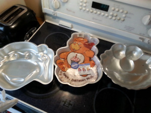 Baking stuff and cookie cutters