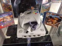 Sega Dreamcast With Games
