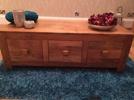 Good as new mango wood furniture