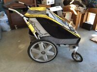 Chariot cheetah 2 - double stroller