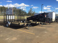 New and used, Dump trailers, Gooseneck, Utility Trailers