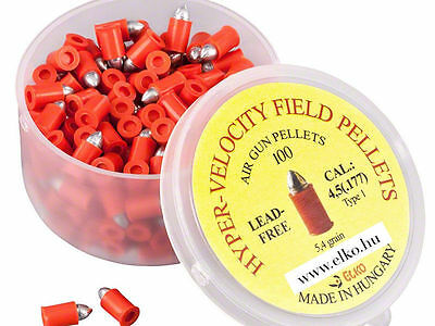 Best Price ! 100pcs HYPER-VELOCITY Orange airgun air rifle pellets 0.177