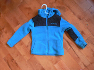 Columbia fleece coat & Reebok running shoes for a 3-4 yr old Kingston Kingston Area image 1