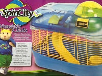 1Month Little Hamster & All New SpinCity Home
