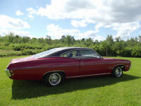 For sale: 168 Chev Impala ss