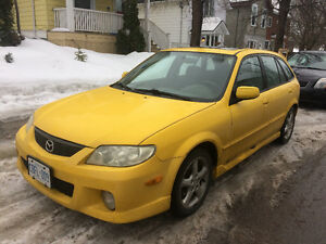 2002 Mazda Protege ES Wagon
