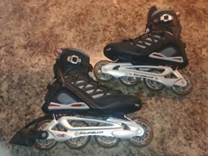 Rollerblabe Homme Taille US 8 EU 40.5 Abec 7