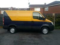 No Vat. August 2007 Iveco Daily 29l10 2287cc Diesel Van.Roof Rack.Cat Walk.Rear Ladder.