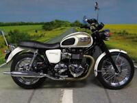 Triumph Bonneville T100 '63 plate' and immaculate!