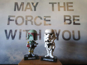 STAR WARS collectibles and toys