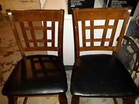 Pub Table with lazy susan and 8 chairs