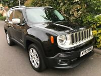 JEEP RENEGADE M-JET LIMITED 2015 Diesel Automatic in Black