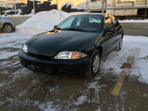 2000 Chevrolet Cavalier LOW KM REMOTE START WINTER TIRES