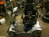 Electric 4 wheel adult scooter