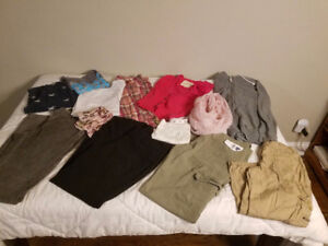 Lot (#2) 14 Items Teen /Young Adult Girl's Clothes-Sz Small Used