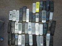 random remotes for tv vcr dvd blue ray air conditioner audio etc