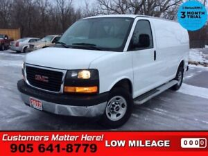2017 GMC Savana Cargo Van WT  CHROME-BUMPERS CAGE BOARDS PWR-GRO