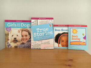4 American Girl Books (3 are Brand New)