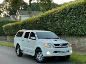 image for 10 TOYOTA HILUX 3.0 D-4D AUTOMATIC HL3 D/CAB + + 3F OWNER + NO VAT + TIDY EXAMPL