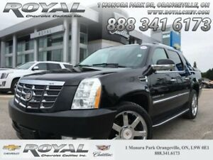 """2013 Cadillac Escalade EXT Luxury  POWER RUNNING BOARDS * 22"""" WH"""