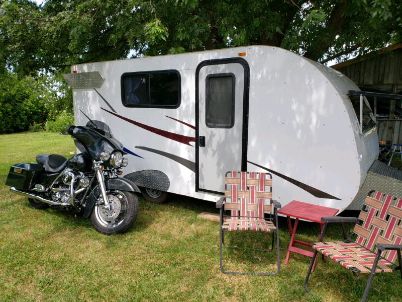 Small Toy Hauler Camping Trailer | Travel Trailers & Campers