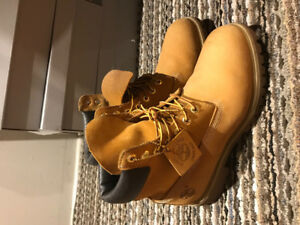 "MENS TIMBERLAND 6"" BOOT SZ 9.5"
