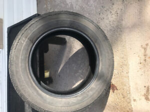"""2- 20"""" used tires."""