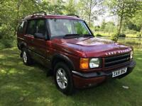 2001 51 Land Rover Discovery Series 2 TD5 Diesel Manual Very Clean For Age