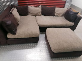 Dfs designer corner sofa local delivery available today