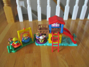 Fisher-Price Little People Playground.