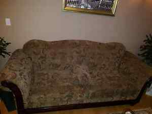 Sofa and  love seat in excellent condition